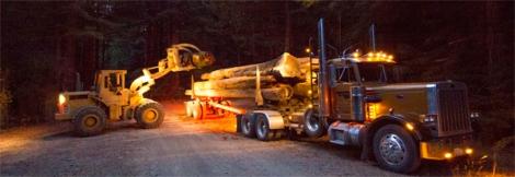 Restoration logs off-loading