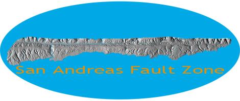 Lidar image of San Andreas Fault Zone