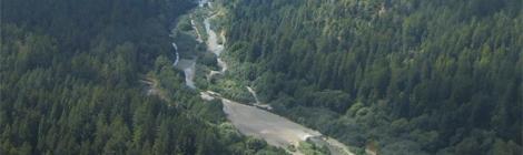 Gualala River and the San Andreas Fault
